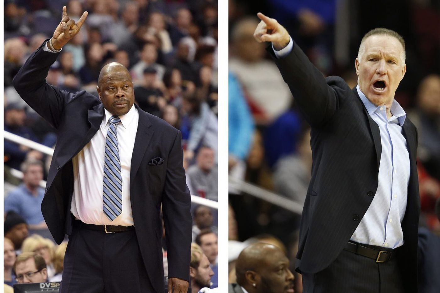 Patrick Ewing, Chris Mullin renew rivalry as Big East coaches