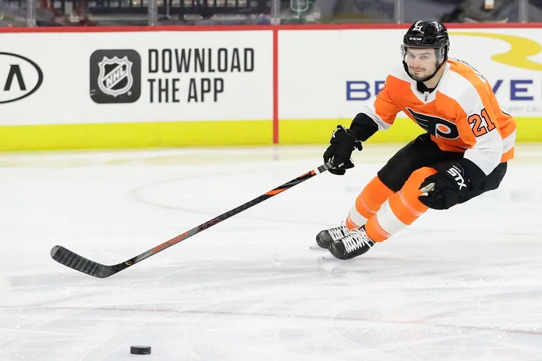 For the Flyers and center Scott Laughton, it feels like the playoffs have already started. The Flyers, who are on a 13-5-2 run, have 20 games remaining.
