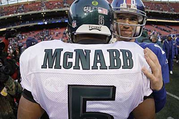 Putting Eli Manning (and Donovan McNabb) in the Hall of Fame would be a disservice to his peers | David Murphy
