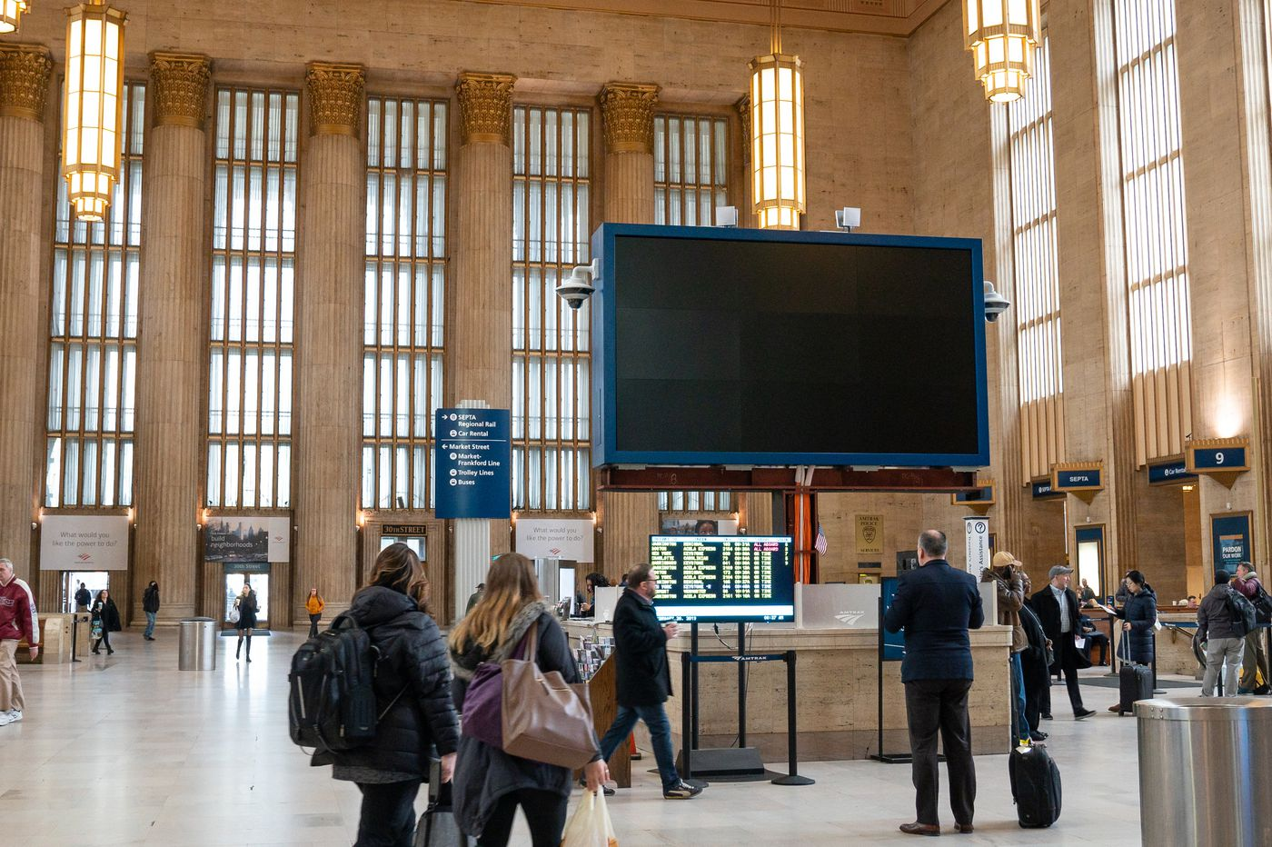 30th Street Station's interior is now historically preserved — only the fourth indoor space in Philly