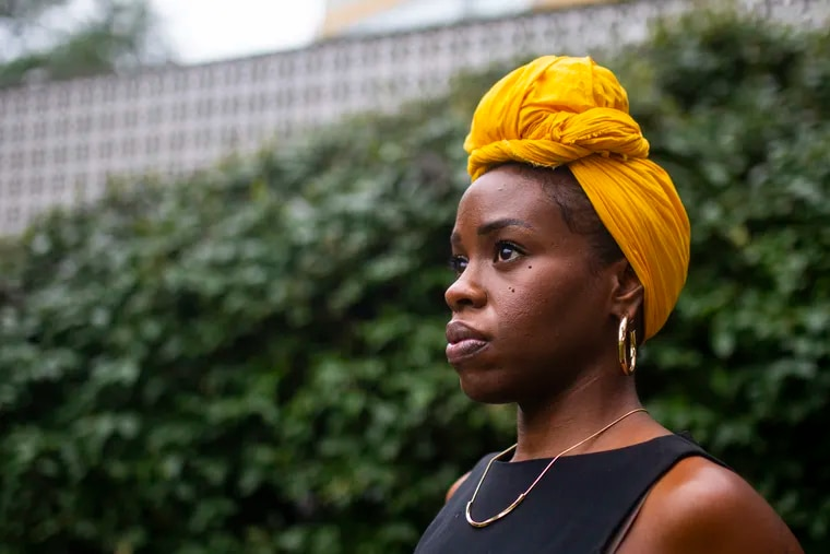 Nicole Kenney, 38, of West Philadelphia, hopes to launch her Hey Auntie! app in the spring of 2022. The app is a platform to connect intergenerational Black women around mentoring on life, professional, and community development.