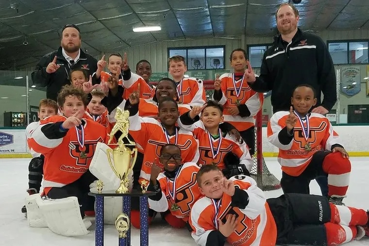 """Snider Hockey uses the sport as a hook to educate young players from """"crayons to careers,"""" said president Scott Tharp."""