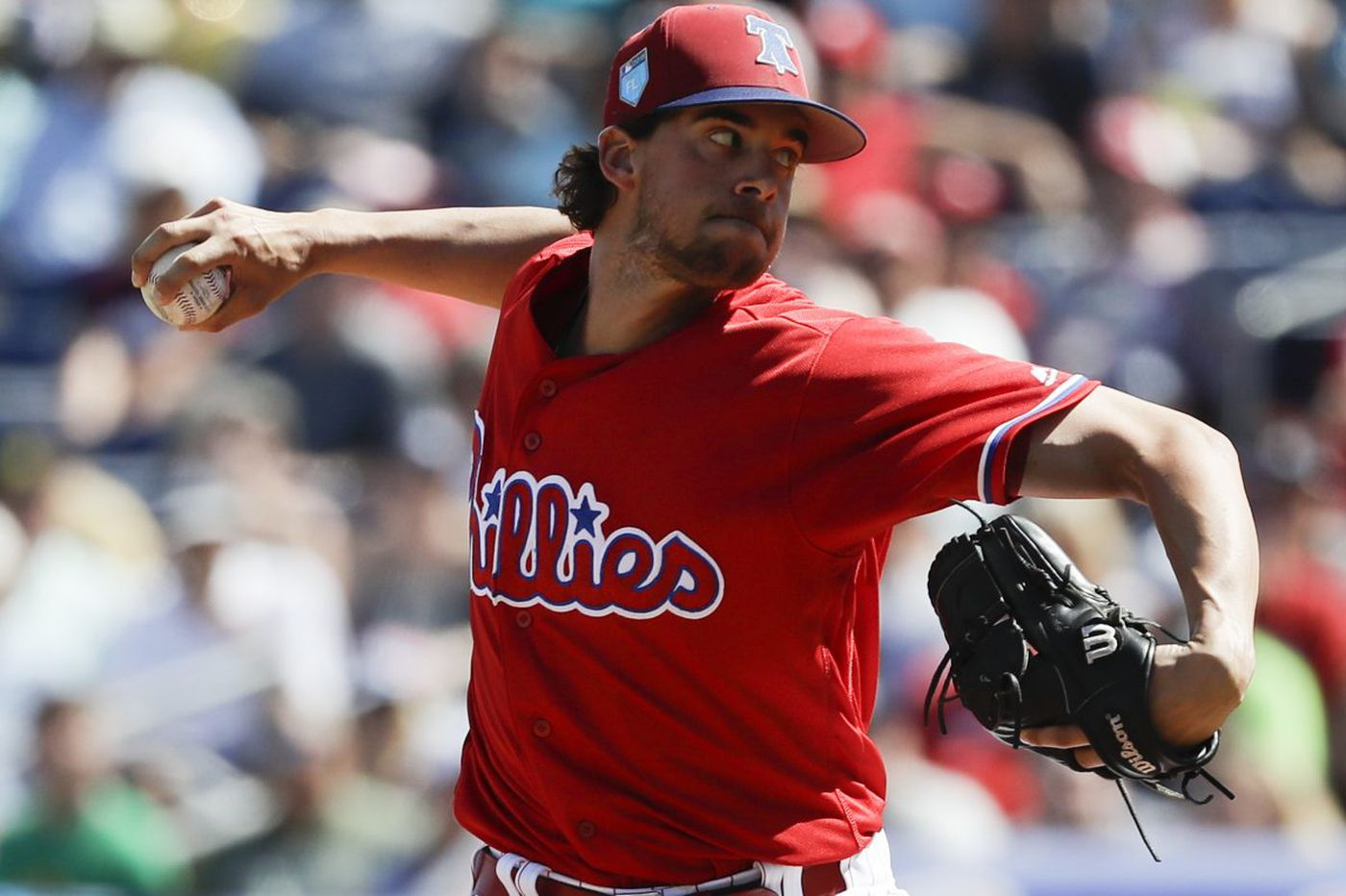 Aaron Nola will be Phillies' youngest opening day starter since 1964