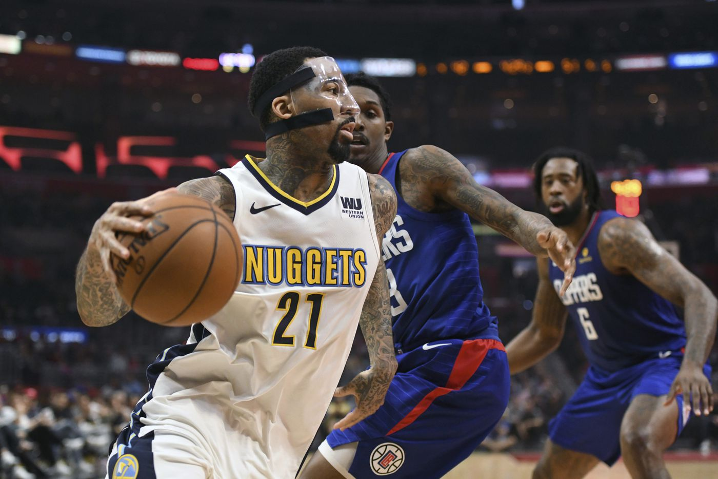 Sixers acquire Wilson Chandler from Denver Nuggets in trade