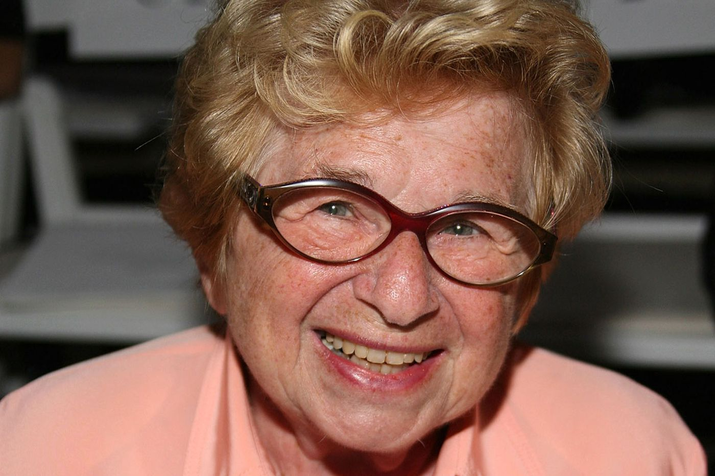 What would you ask Dr. Ruth if you had a chance?
