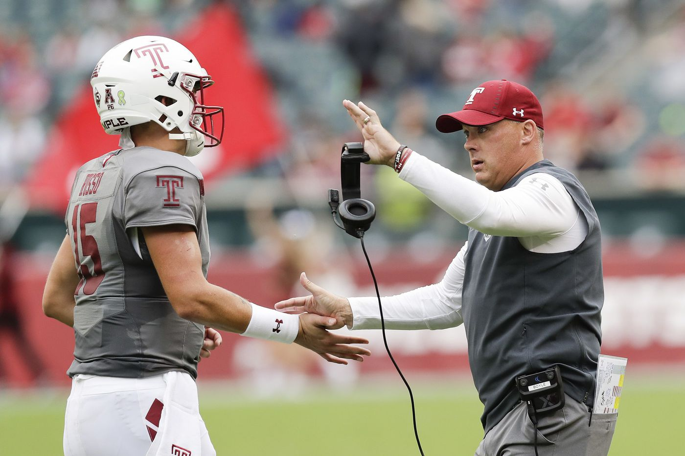 Here is what Temple coach Geoff Collins is saying
