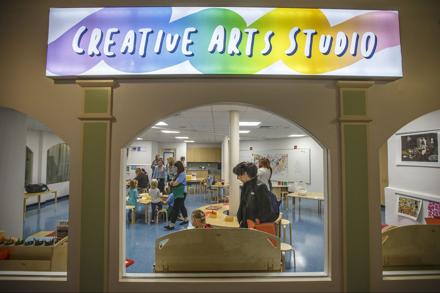 Please Touch Museum opens new creative arts studio for kids to create their own works of art
