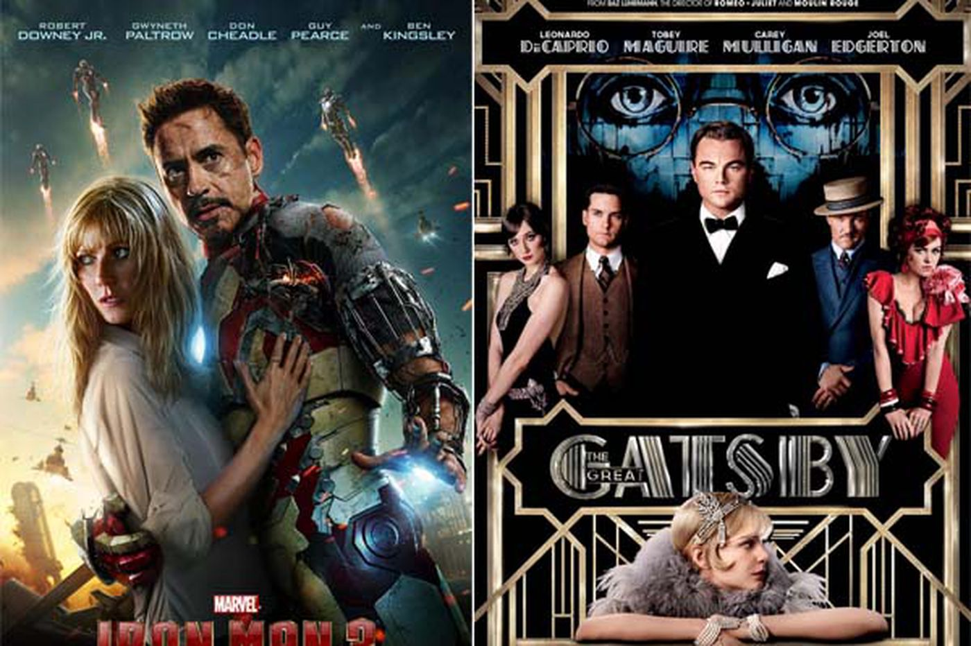 Sideshow: 'Iron Man 3' tops Gatsby's arrival