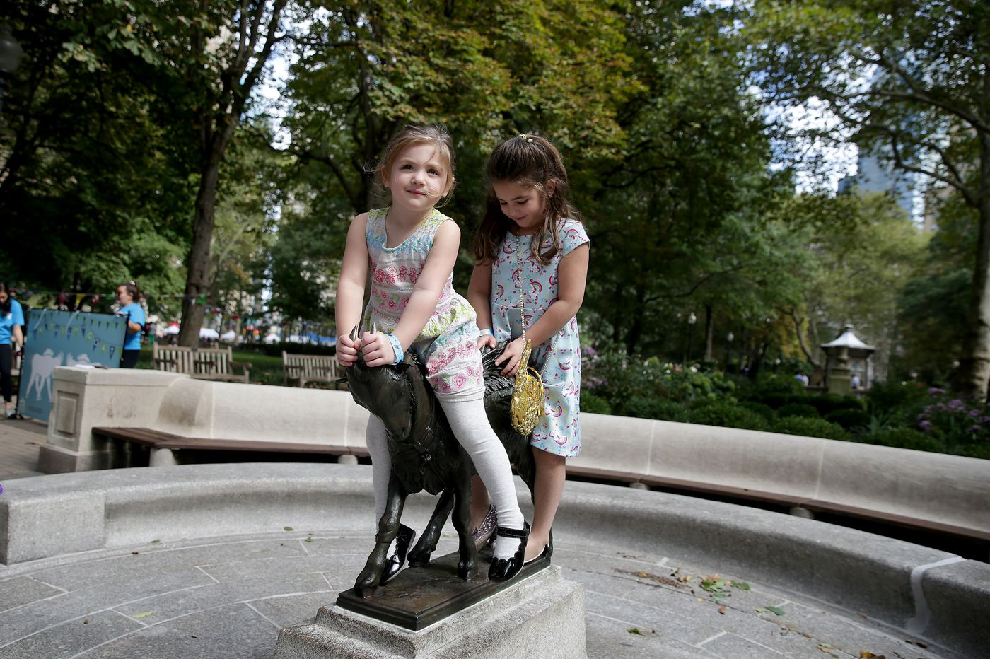 The kids liked Rittenhouse Square's new kid on the block — but the live stuff was even better