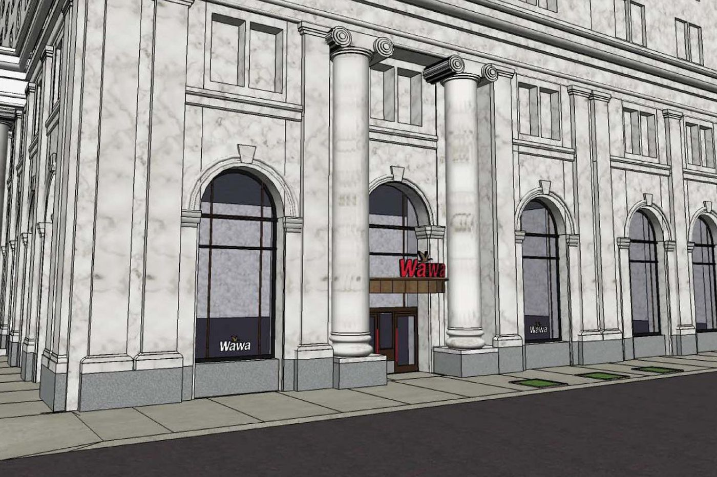 Wawa seeks permit for massive store near Independence Hall