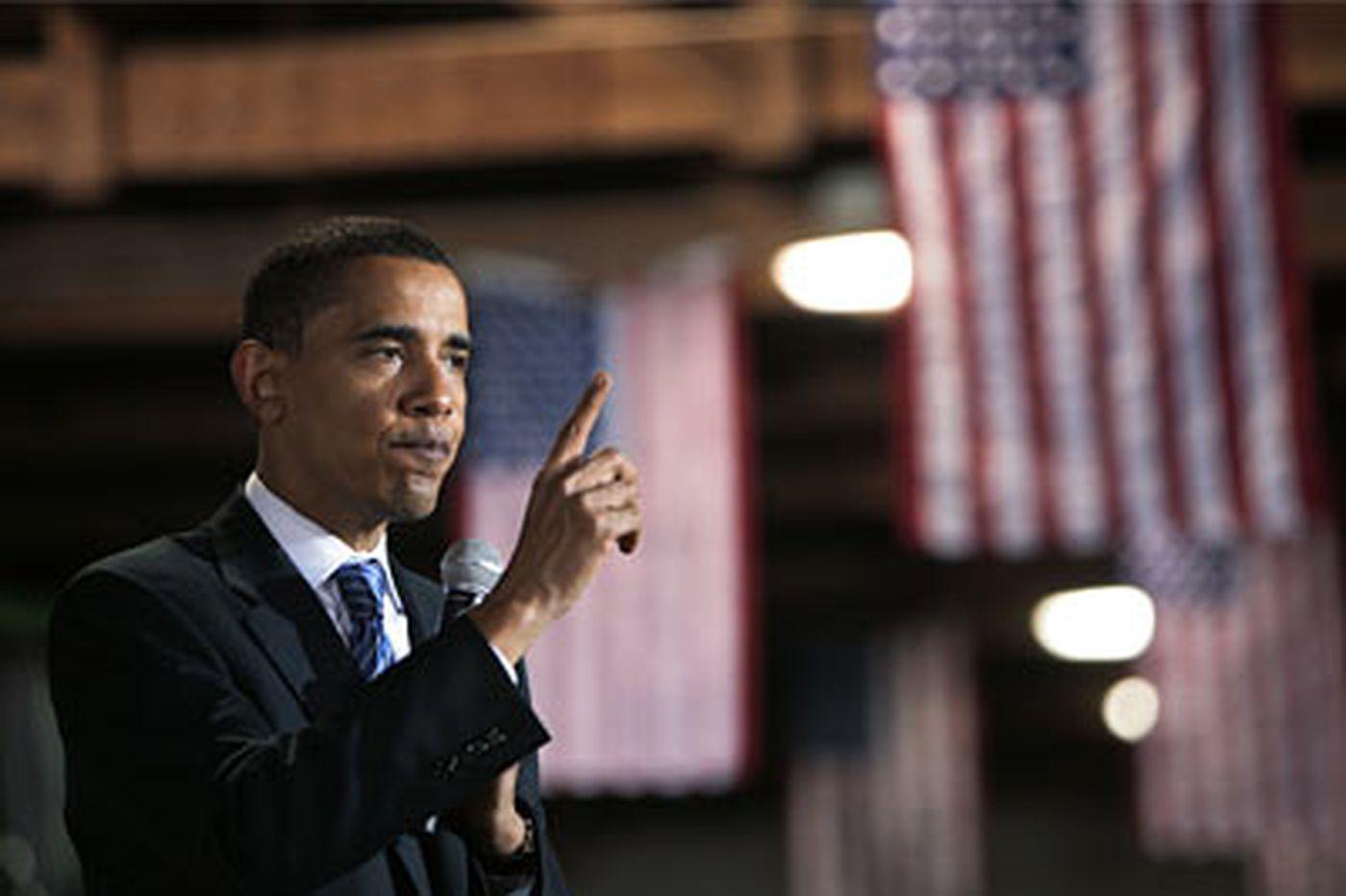 Obama links McCain to Bush policies