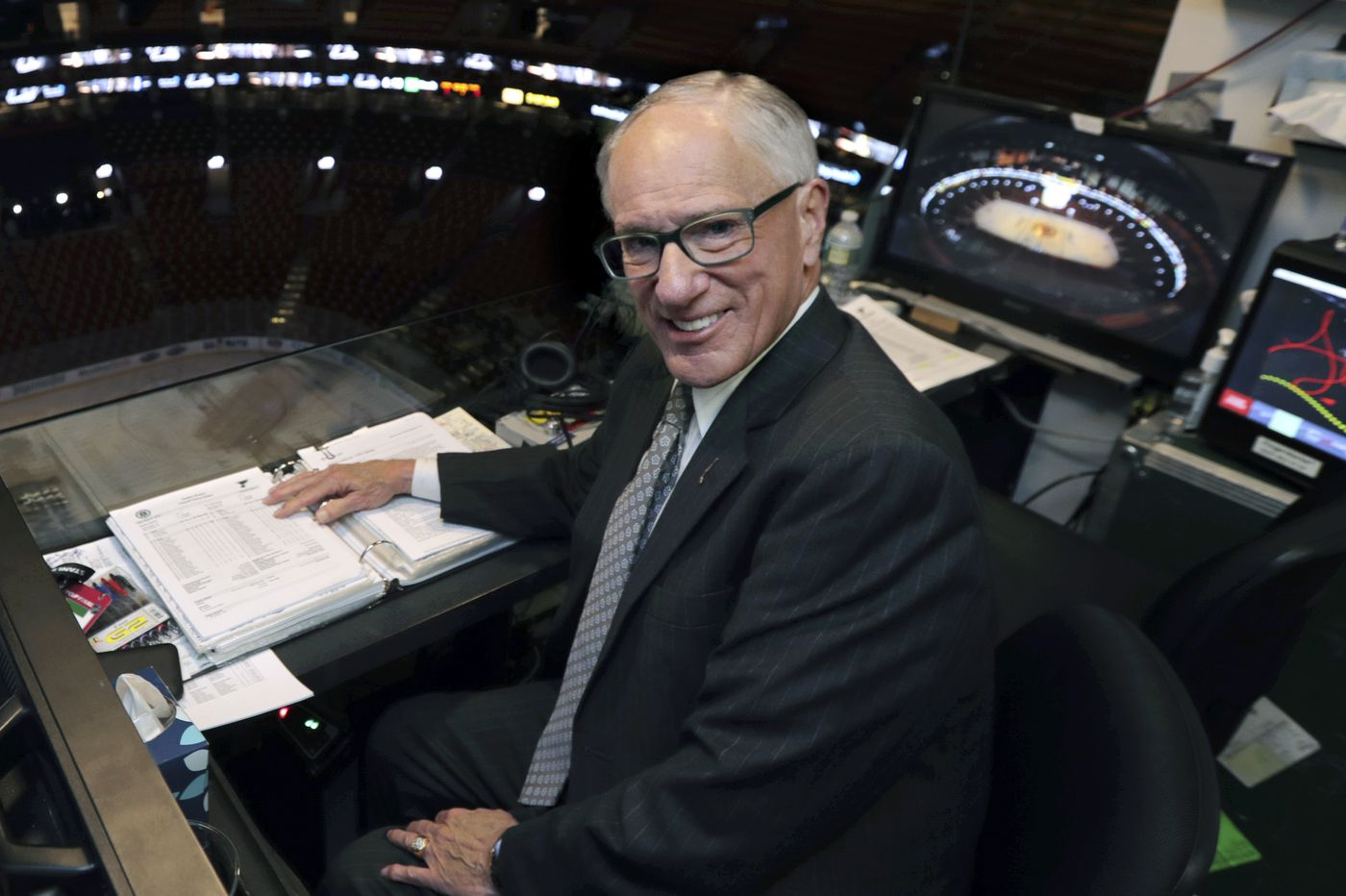 Legendary hockey play-by-play man Mike 'Doc' Emrick is retiring