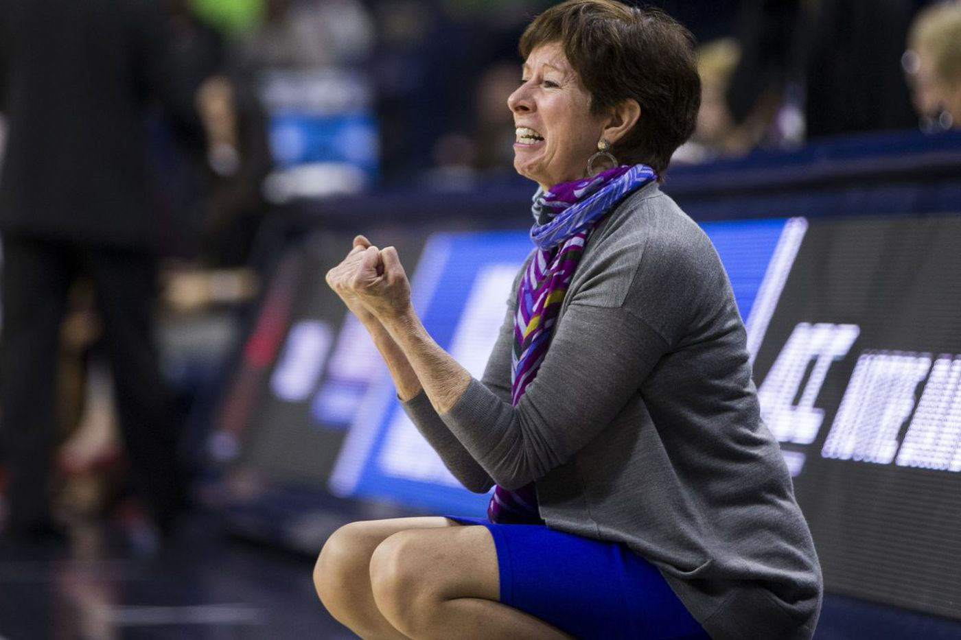 Notre Dame coach Muffet McGraw expects big challenges from Villanova