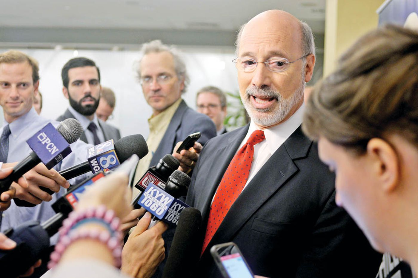 Tom Wolf on work, reforms and driving his Jeep