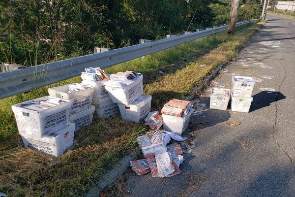 Mail for Philly delivery found dumped on South Jersey roadside