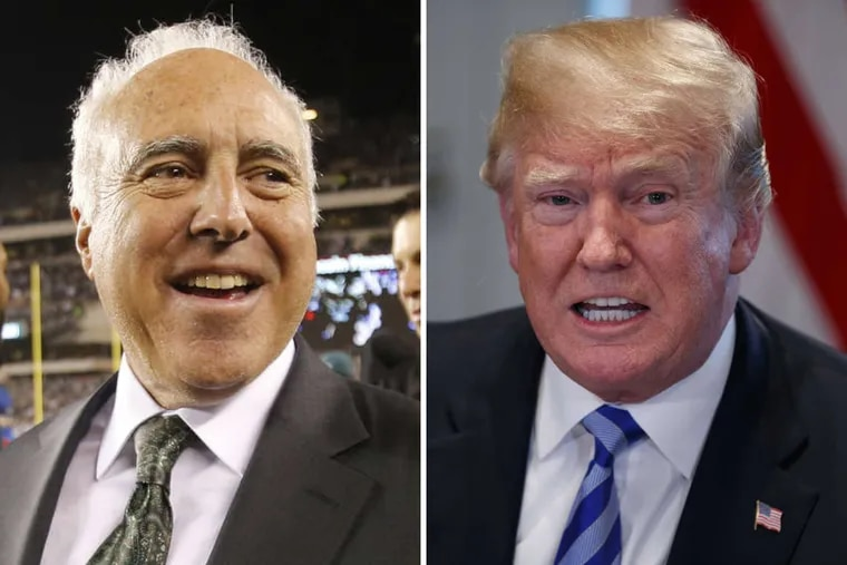 Eagles owner Jeffrey Lurie was right to accept the invitation to visit President Donald J. Trump at the White House. It doesn't mean all the Eagles players need to attend as well.