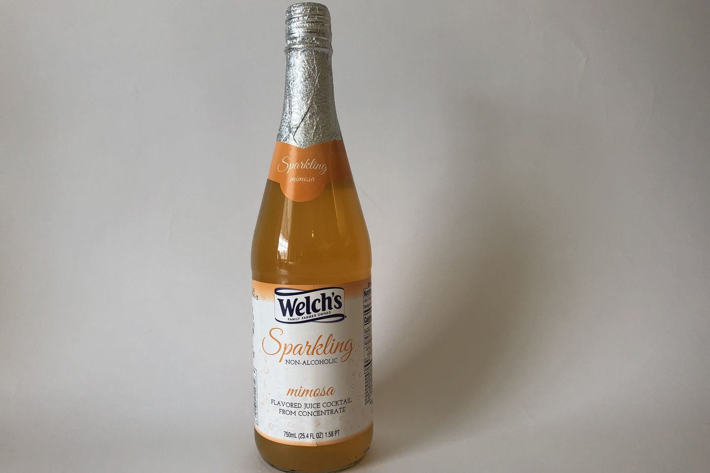 Welch's newest sparkling mocktail is a premade mimosa with no booze