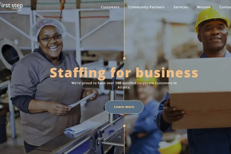 First Step Staffing, an Atlanta nonprofit, is bringing its model of employing homeless individuals to Philadelphia.