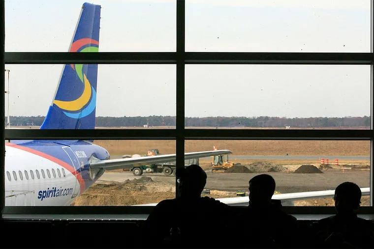 The Atlantic City airport has seen passenger numbers soar amid TSA cutbacks.