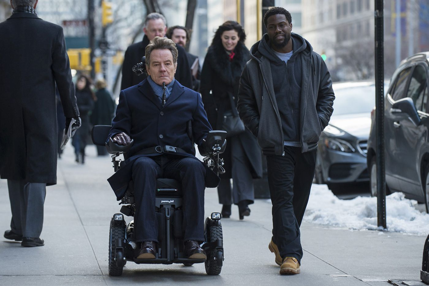 Philly-filmed 'The Upside,' starring Kevin Hart and Bryan Cranston, gets first trailer