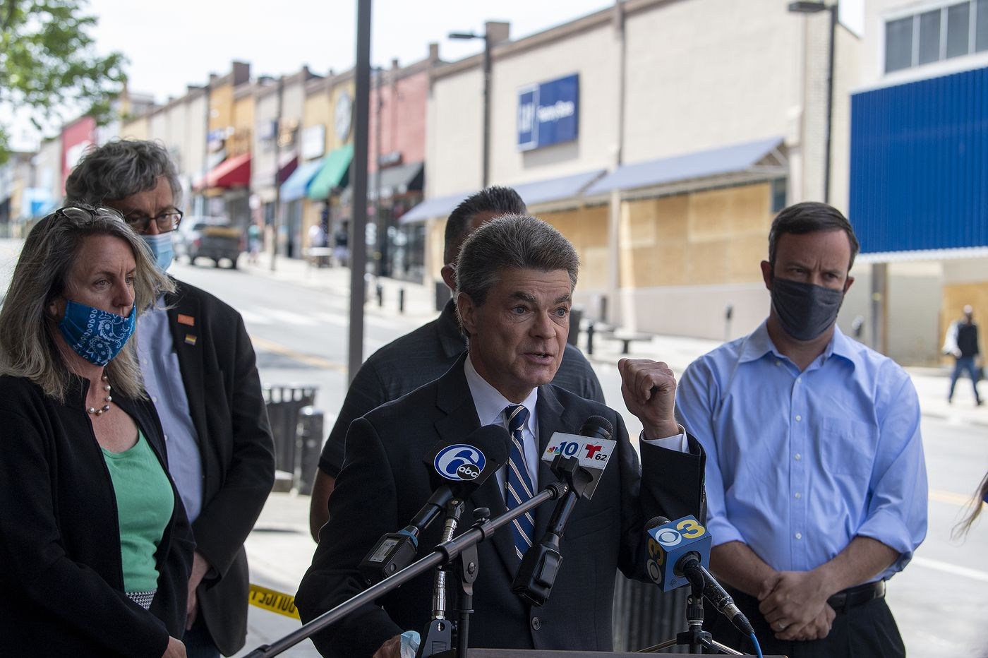 Delco DA charges Aston man with ethnic intimidation, says he shouted racial slurs at protesters