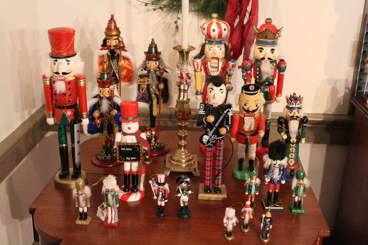 This historic Delaware site gathered 160 nutcrackers to celebrate the classic Christmas tale's 200th birthday