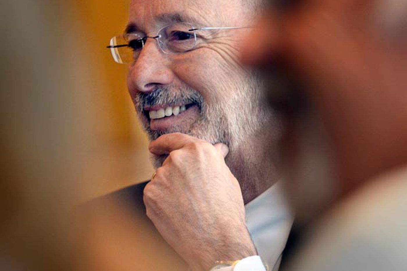 Tom Wolf seeks to bring small-town ethos to gubernatorial race