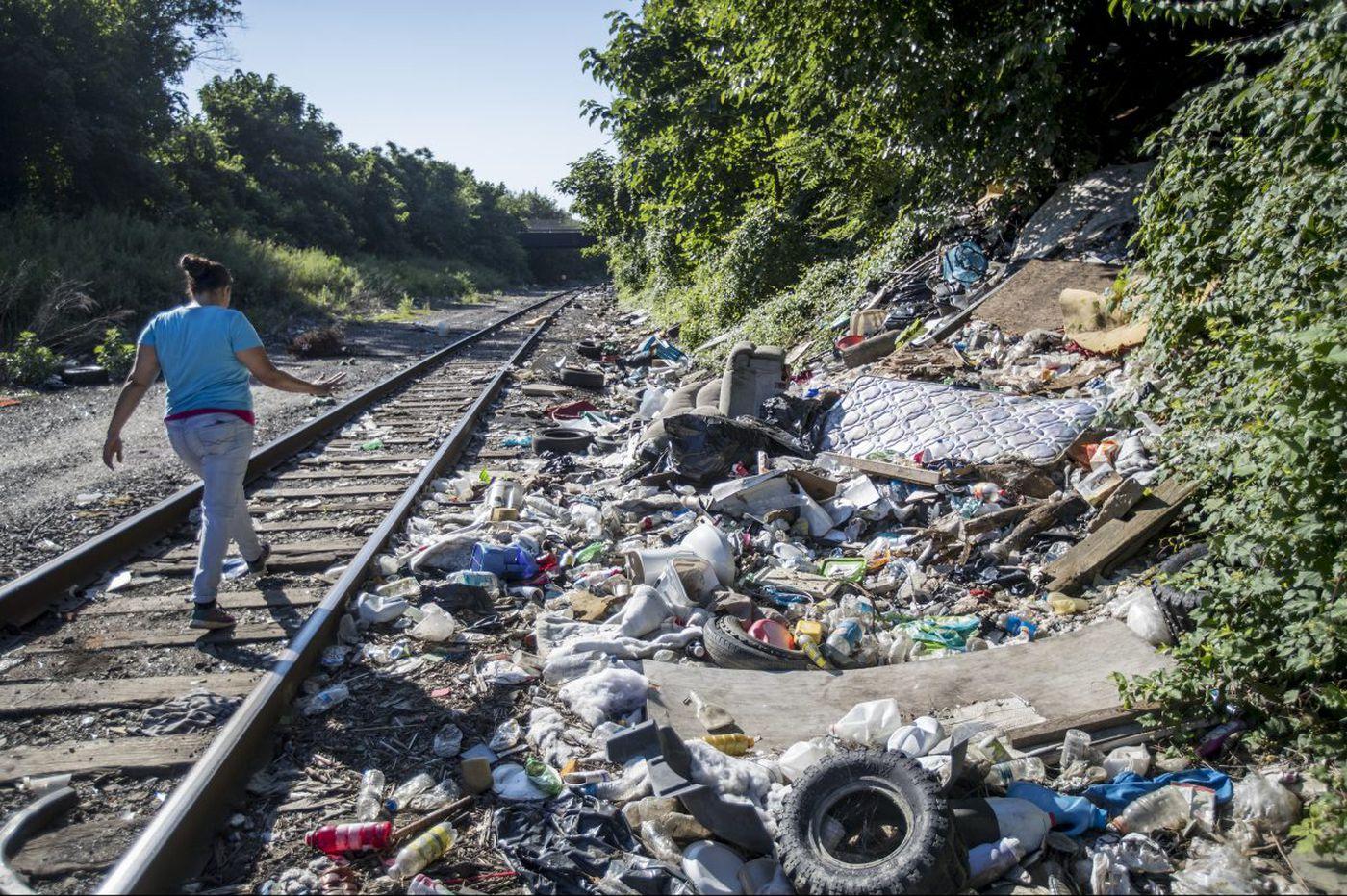 'A big step': Cleanup of Gurney Street heroin camp begins