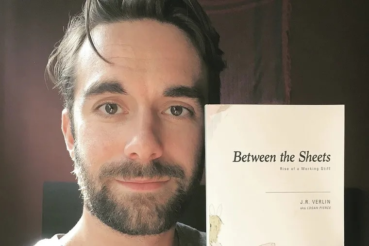 Adult film performer Logan Pierce, a Delco native and former Temple University student, has a new book out detailing his work in the porn industry. 'Between the Sheets: Rise of A Working Stiff' is available via Amazon now.