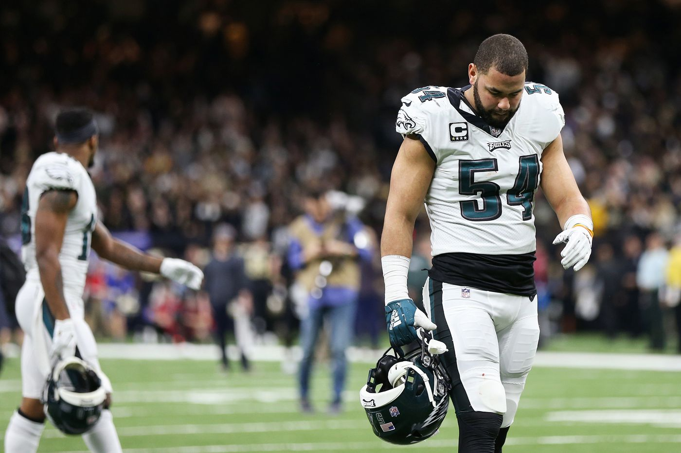 Eagles' Kamu Grugier-Hill likely to miss season opener with knee injury