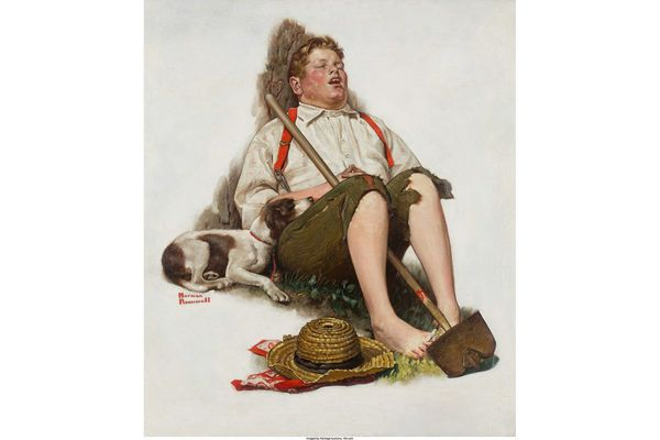 Stolen, recovered, and now for sale: The saga of Cherry Hill's Norman Rockwell painting