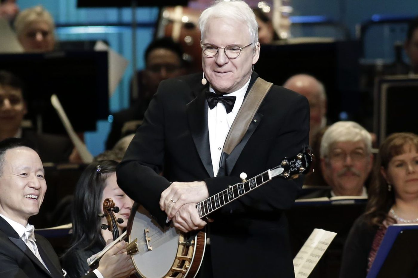 Steve Martin delights at sold-out Academy of Music concert and ball