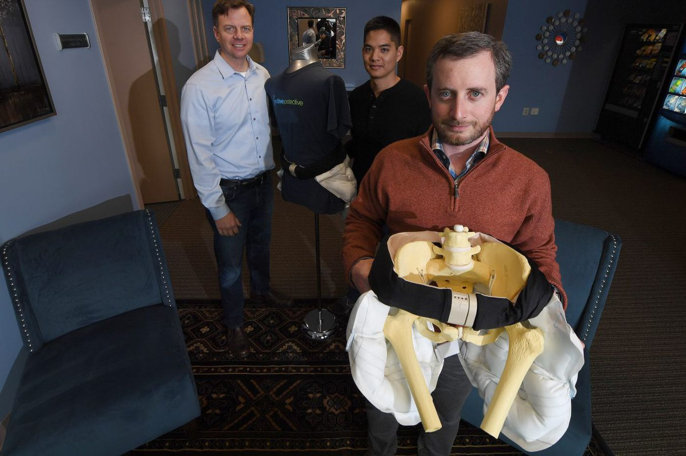Fall. 'Pop.' Air bag. A Montco start-up is out to prevent hip fractures with a high-tech belt