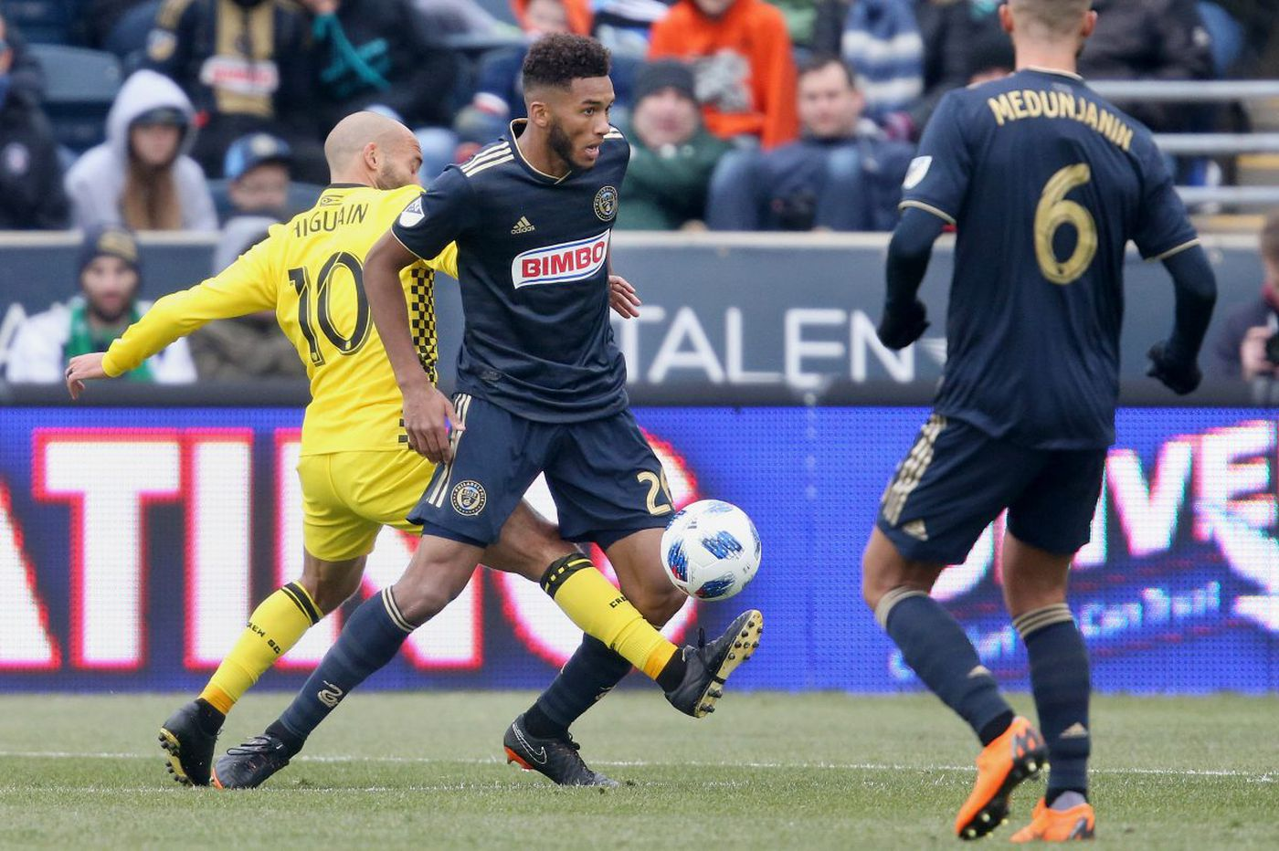 Union's Auston Trusty keeps improving as rookie season continues