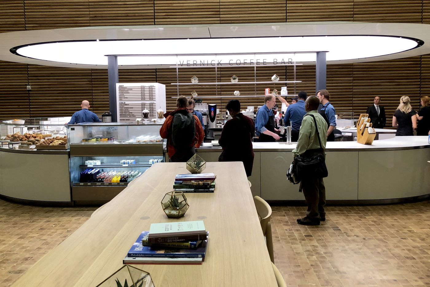 Early look at Vernick Coffee Bar at new Comcast tower