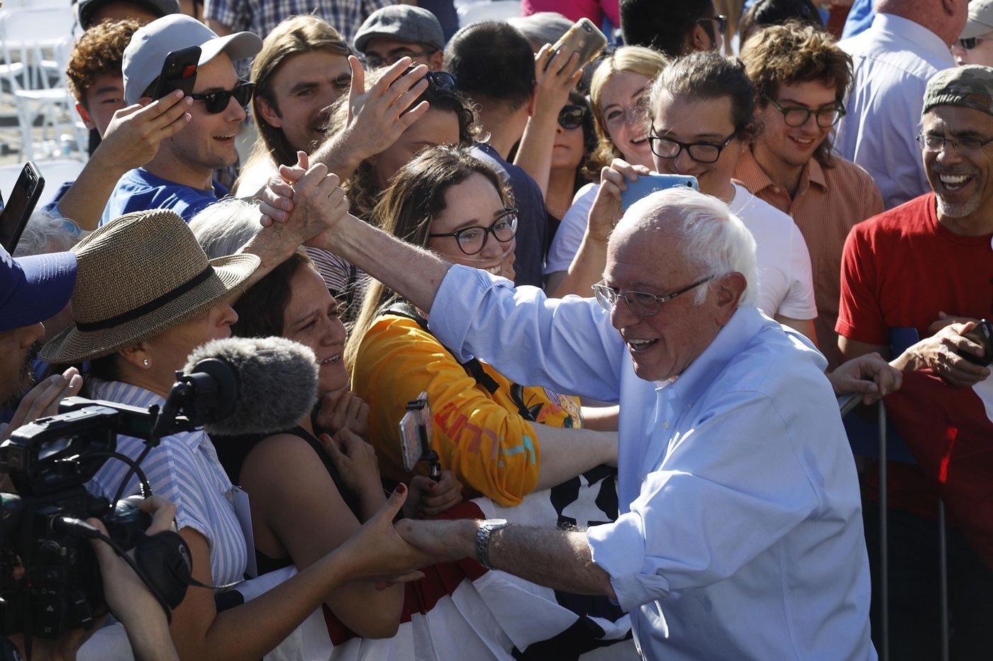 Bernie Sanders is on the Trump track to the White House. Here's why he's not a 'leftist Trump.' | Will Bunch