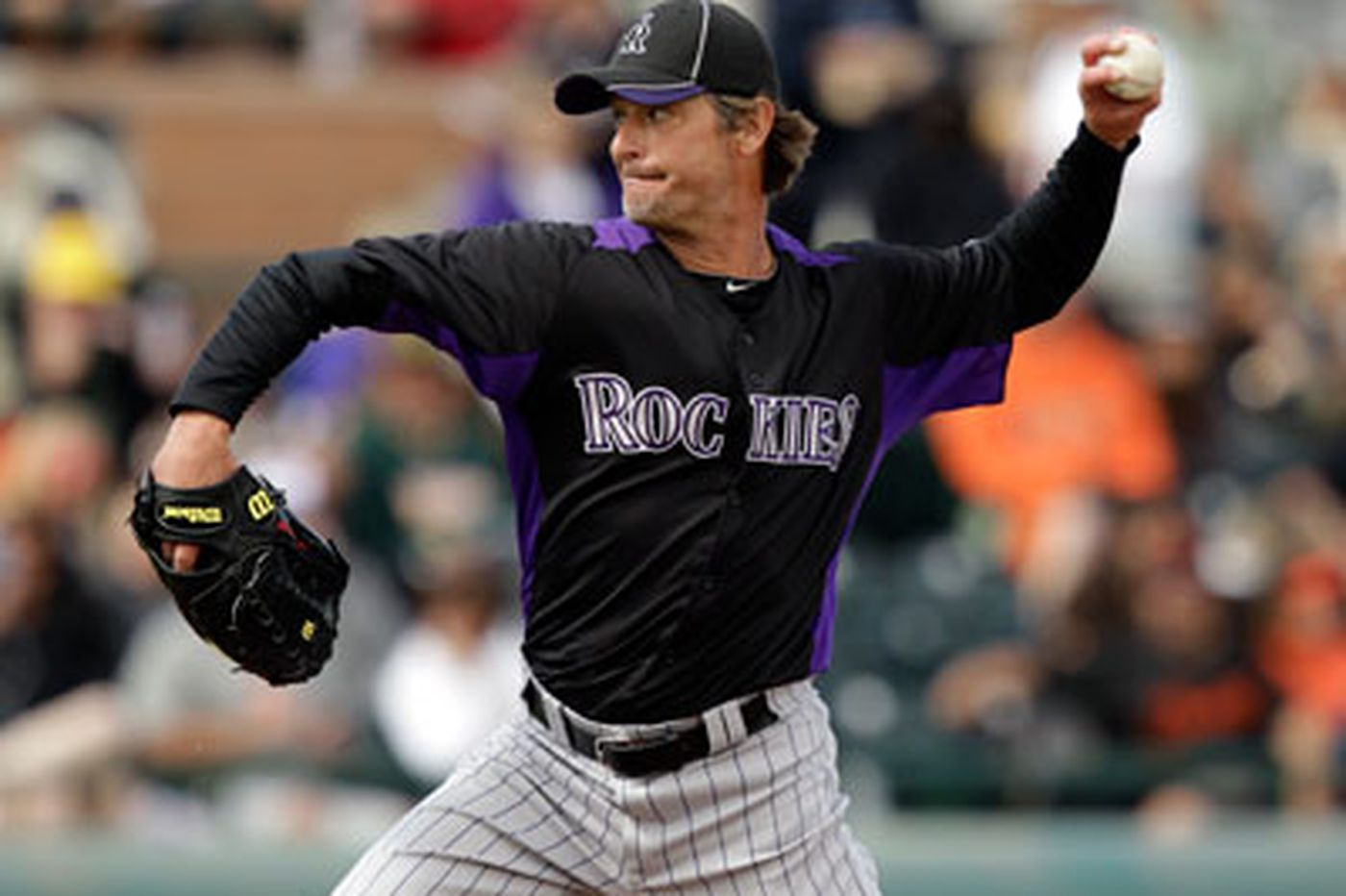 Jamie Moyer is cheating time with the Rockies