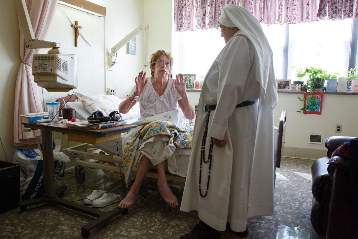 Sacred Heart Home nuns care for terminally ill while seeking recruits