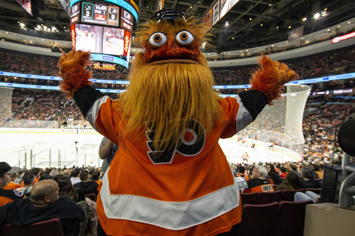 Gritty, Philly's overlord of happiness, to take over Happy Place