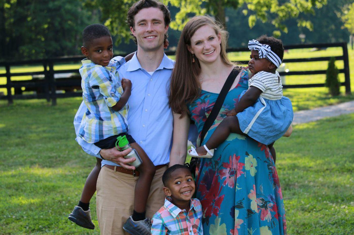 The Parent Trip: Lindsey and Graham Johnson of West Philadelphia