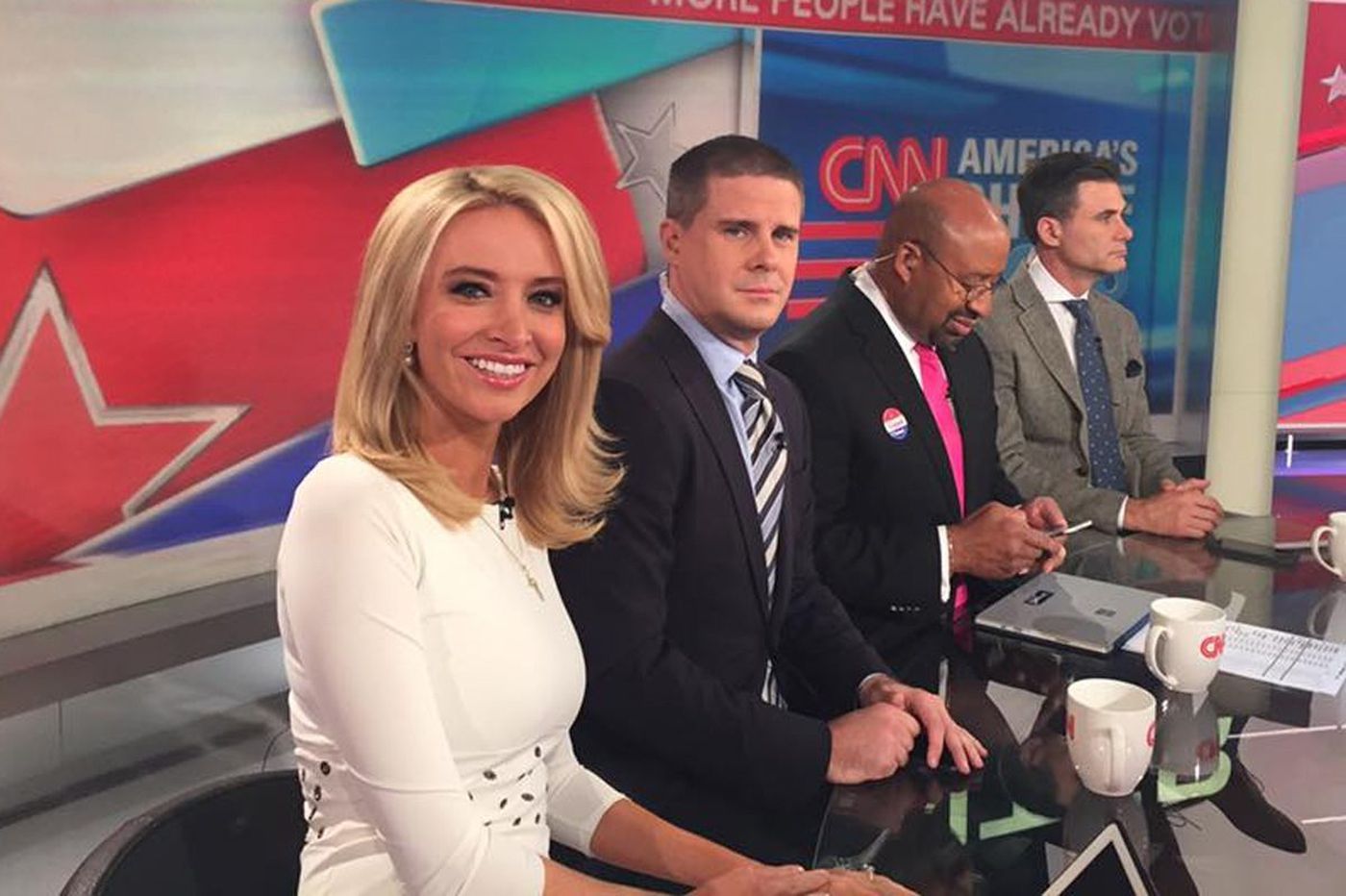 Conservative pundit Kayleigh McEnany out at CNN