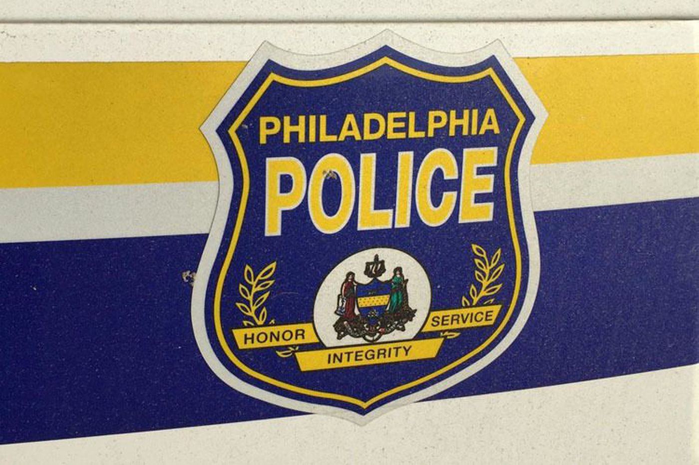 Philly police officer struck by car