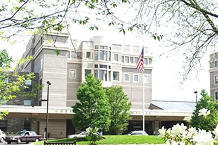 Photo of Chestnut Hill Hospital from chhealthsystem.com