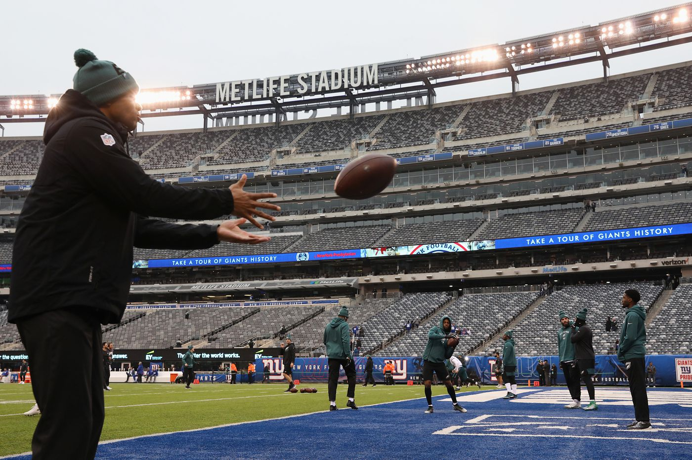 New York Giants, Jets will not allow fans at home football games this fall due to the coronavirus, report says