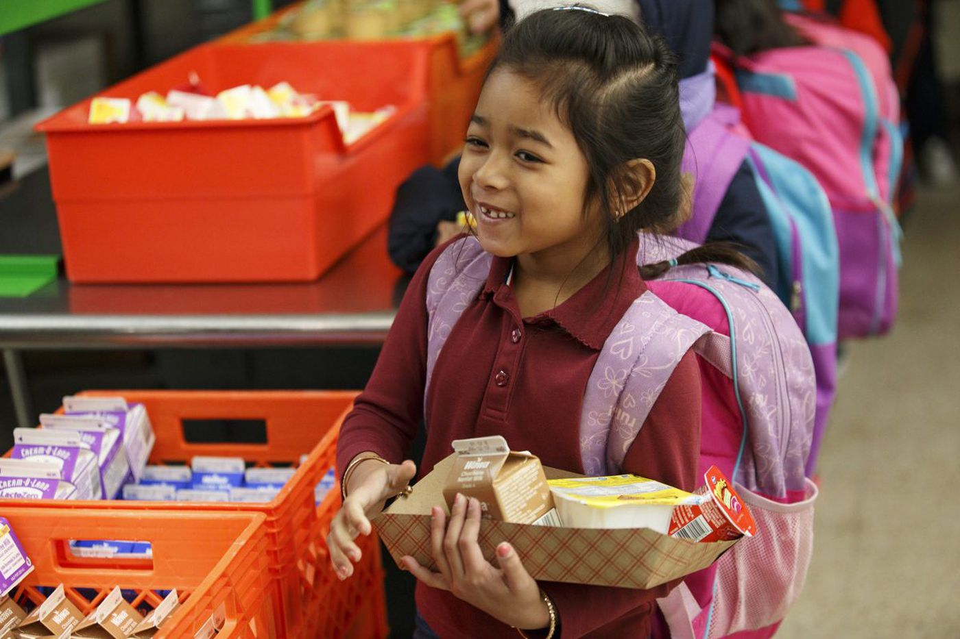If more Philly kids eat free breakfast, will achievement rise? This school says yes.