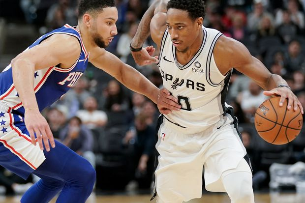Sixers are no match for the Spurs in a 27-point loss in Texas