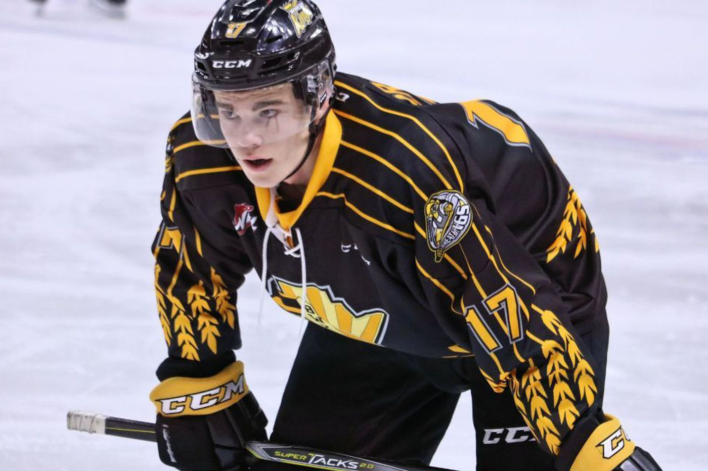 The Flyers should select Jacob Perreault if he's available in the NHL draft   Sam Carchidi