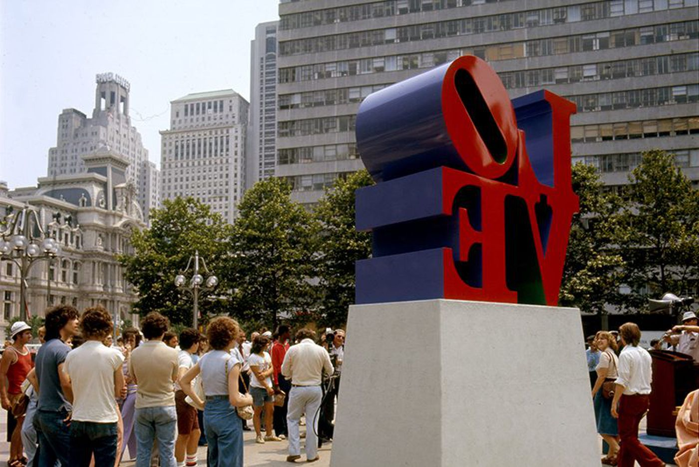 How Philly's 'LOVE' sculpture was painted the wrong color 30 years ago