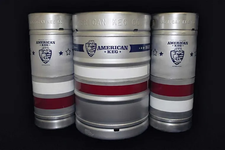 American Keg Co. in Pottstown is the last company in the U.S. to fashion beer kegs out of American stainless steel. It could get a big lift from Trump's Commerce Department.