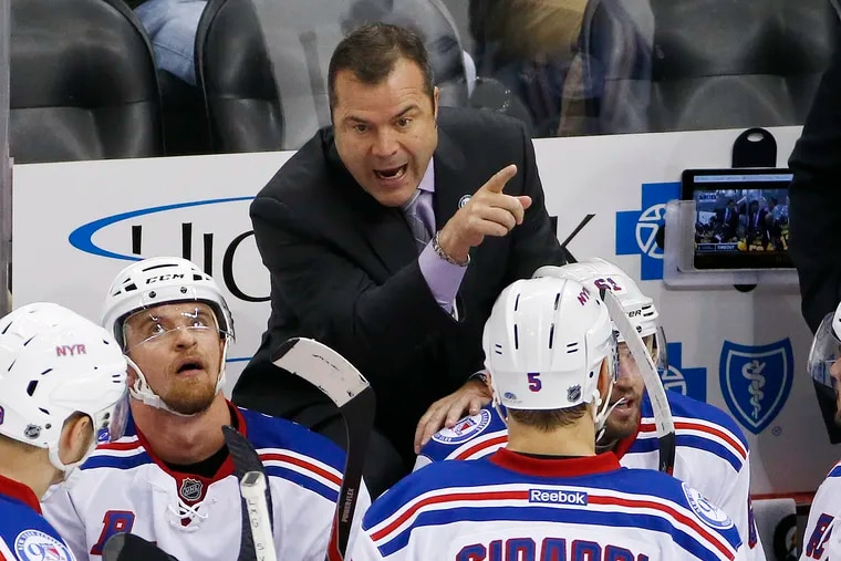 Alain Vigneault will be the Flyers' fifth head coach since the start of the 2013-14 season.